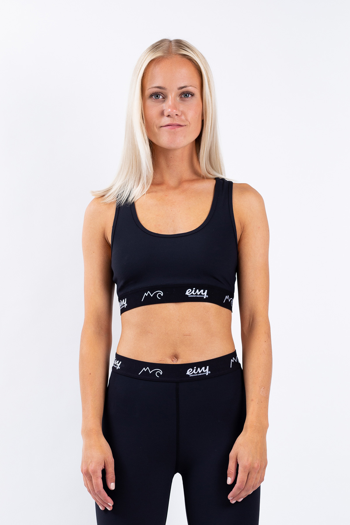 Sports Bra | Shorty - Black