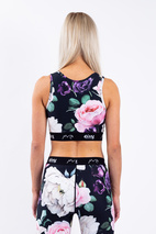Sports Bra | Cover Up - Rose Garden | XL