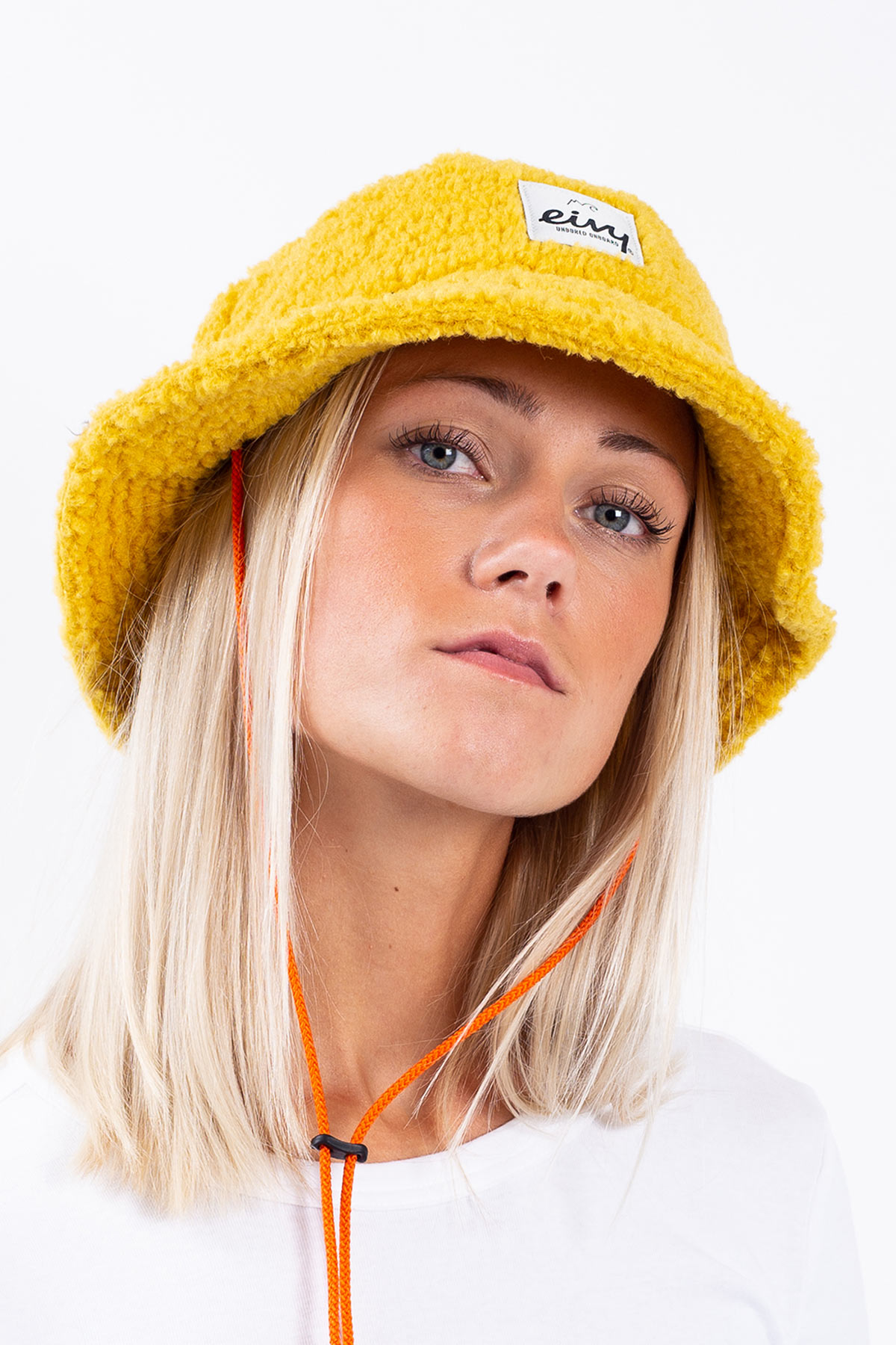Bucket Hat | Full Moon Sherpa - Mustard