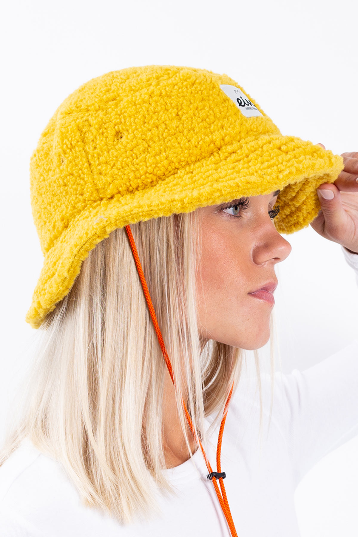 Bucket Hat | Full Moon Sherpa - Mustard | One Size