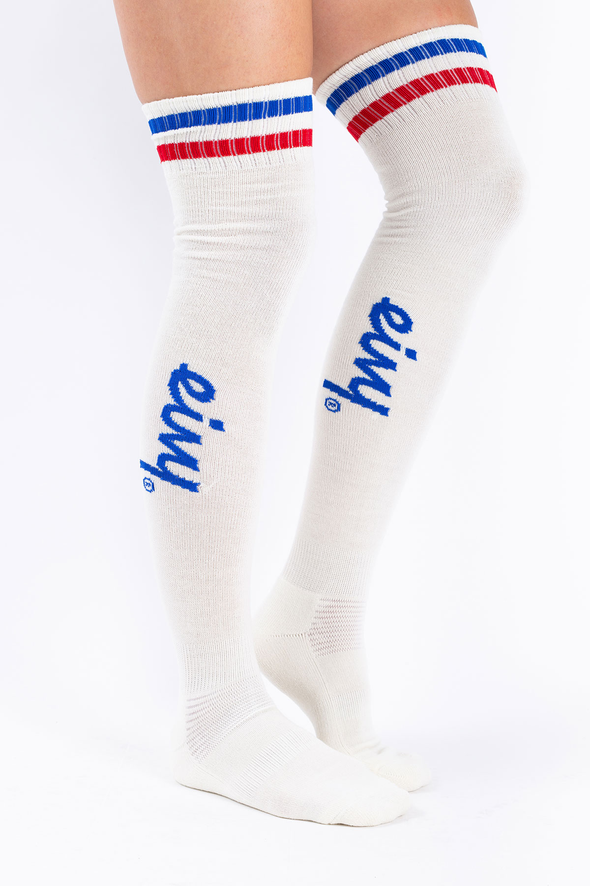 Socks | Cheerleader High Wool - Offwhite