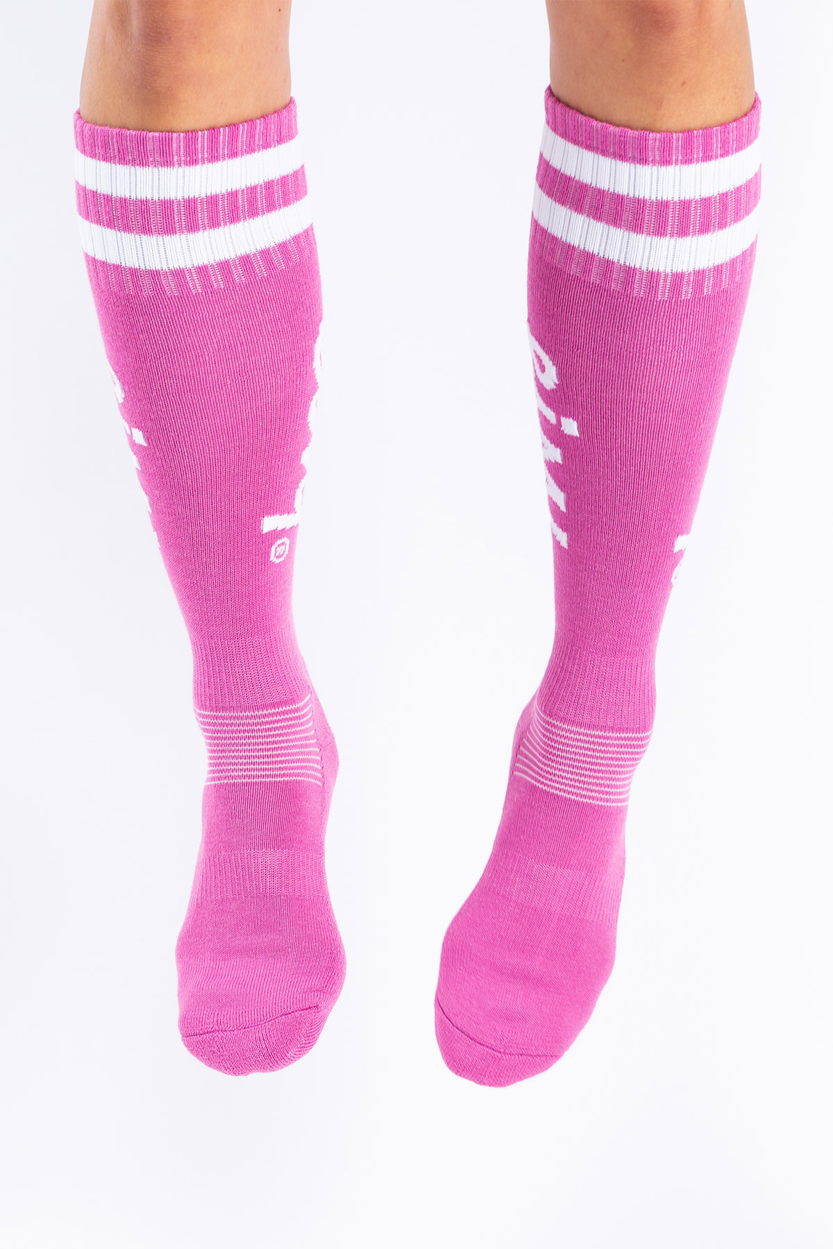 Socks | Cheerleader Wool - Raspberry