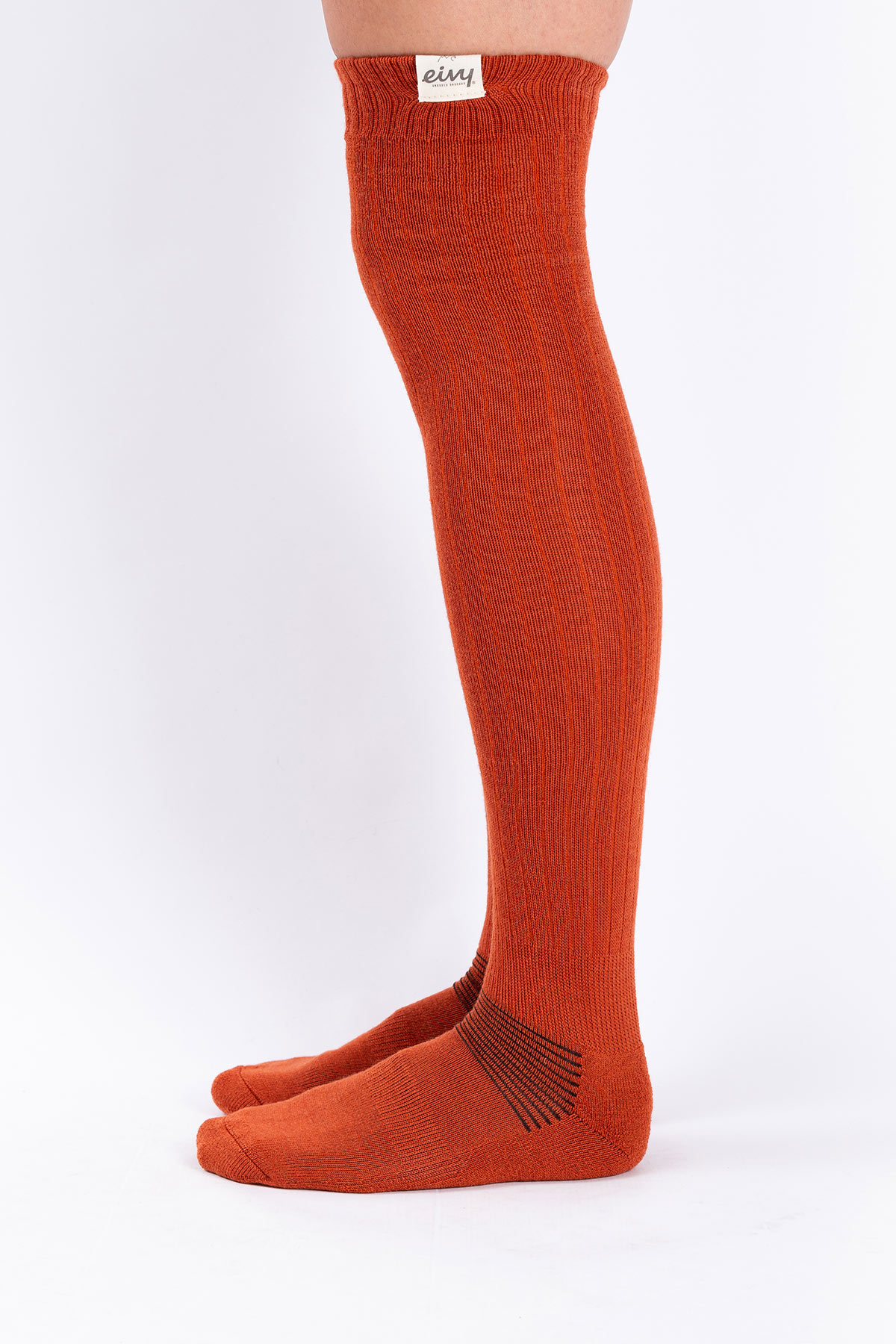 Socks | Rib High Wool - Rustic
