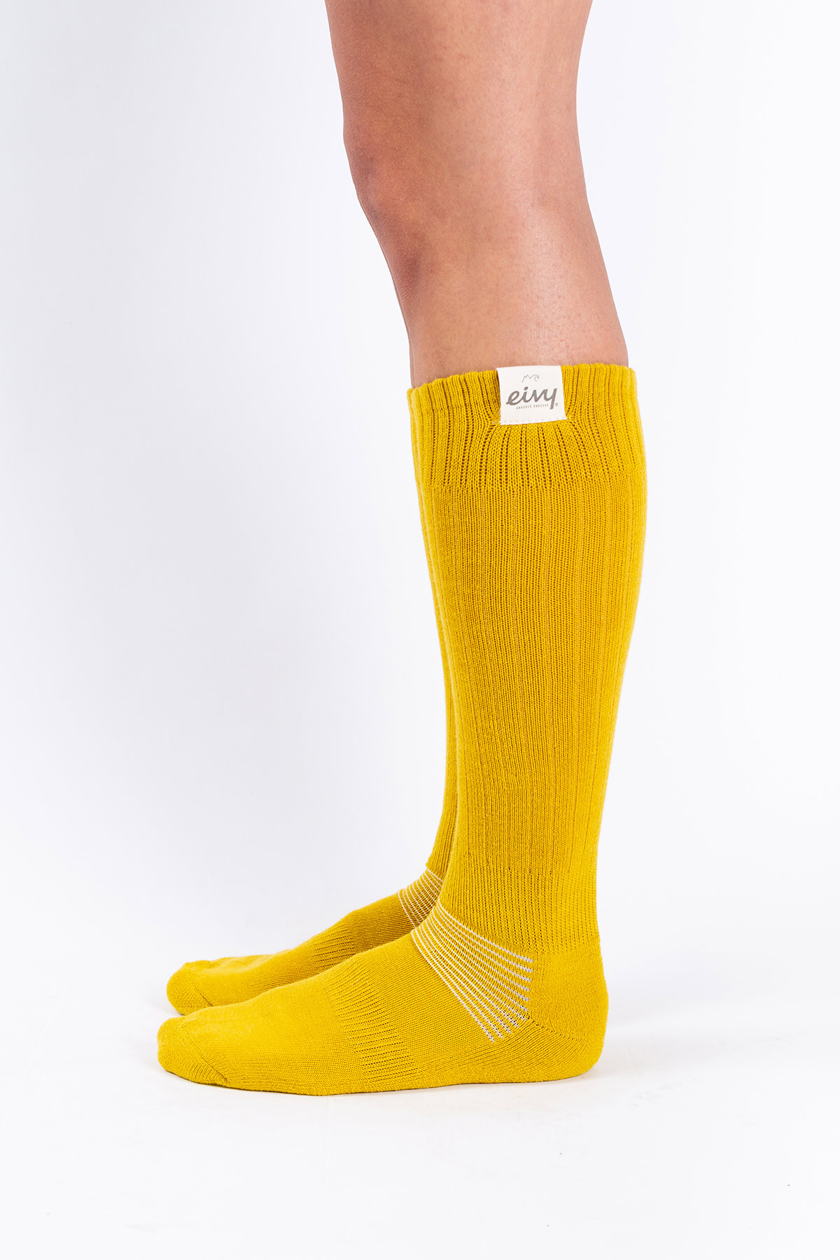 Socks | Rib Wool - Mustard
