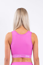 Sport BH| Cover Up - Super Pink | XL